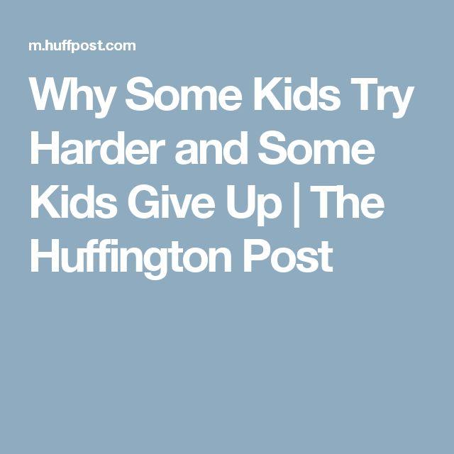 17 Best Ideas About Try Harder On Pinterest Kids