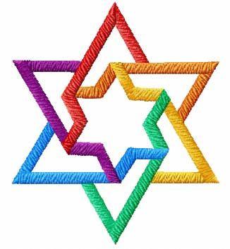 214 best stars of david images on pinterest star of david jewish rh pinterest com Multi Colored Snowflake Clip Art Star Border Clip Art