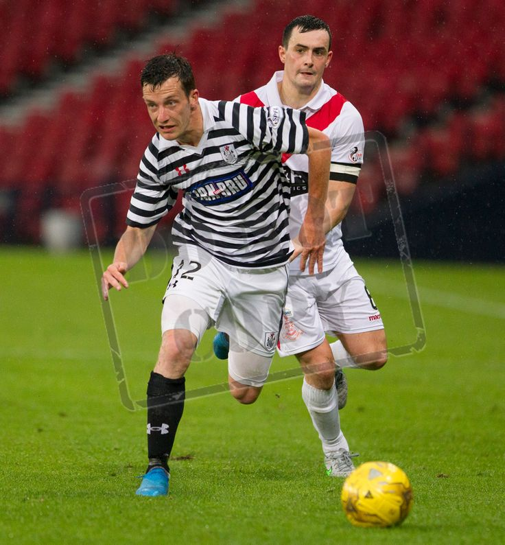 Queen's Park's David Galt in action during the Betfred Cup game between Queen's Park and Airdrieonians.