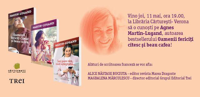 Dreams Have Wings: Agnès Martin-Lugand la București
