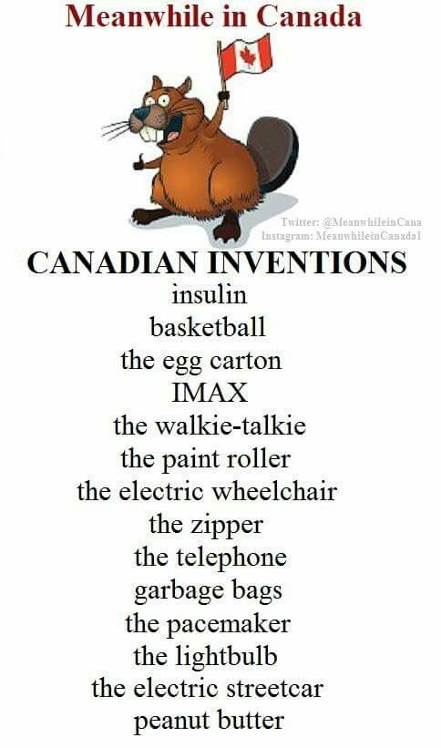 Canadian inventions