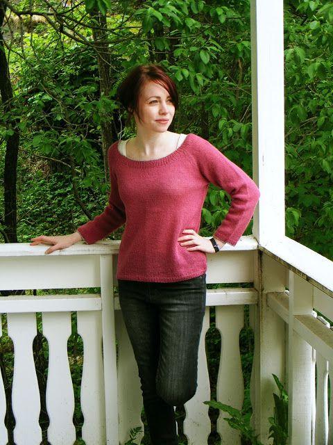 Nøsteblogg - Nøstebarns blogg: Sommerkveldsgenser, gratis strikkeoppskrift