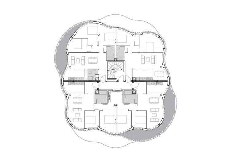 Farshid Moussavi Architecture / Jardins de la Lironde Competition