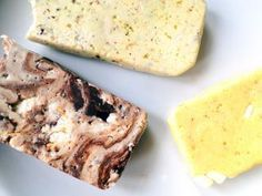 If you have an addiction to Quest Bars, you're going to want to try this recipe for three different flavours of homemade protein bars - Pistachio, Lemon Meringue and Chocolate Rocky Road.