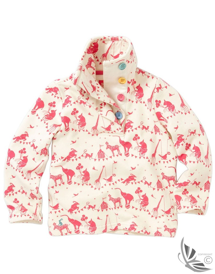 Joules Girls' Cowdray Sweatshirt - Creme M_JNRCOWDRAY at Country Attire