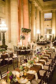 Cleveland City Hall Rotunda Wedding - Style Me Pretty