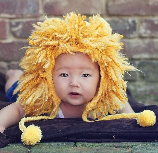 Lion Hat, (1-3 yrs or 3-10 yrs), Other Sizes, and Darker Color Options, Made to Order. $25.00, via Etsy.: Infants Child, Colors Options, Halloween Costumes, Lion Costumes, Baby Hats, Baby Lion, Hats Diy, Lion Hats, Winter Hats
