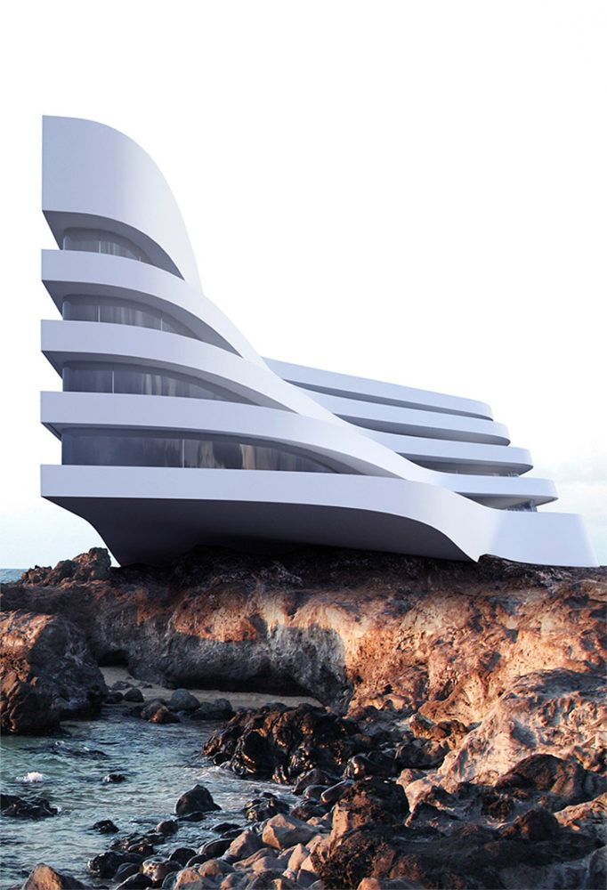 striking architectural concepts by roman vlasov