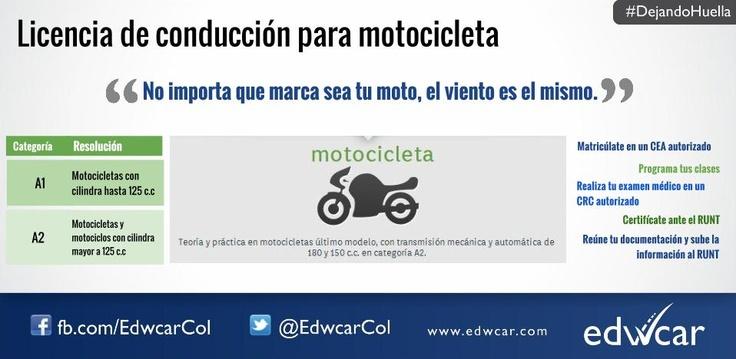 Licencia de conducción para motocicleta