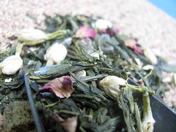 Organic Passion Fruit Jasmine Green Tea sencha loose tea