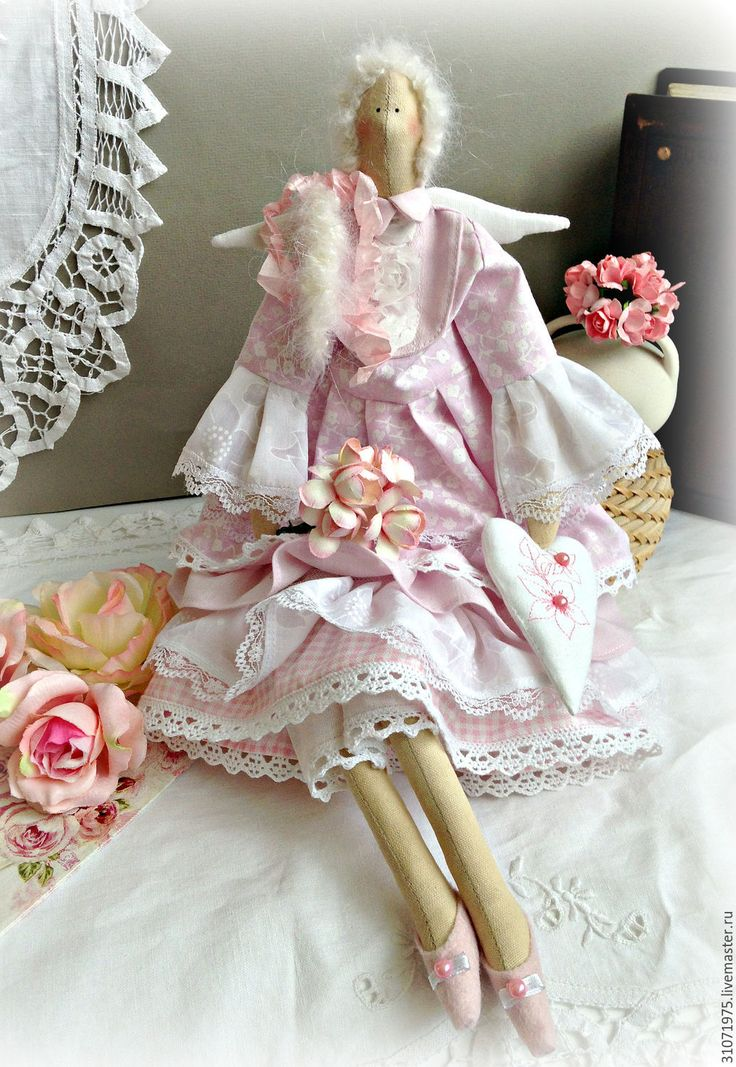 """Купить Кукла Тильда"""" Ах, прекрасные пионы...."""" - тильда, тильда кукла, тильда ангел ☆"""