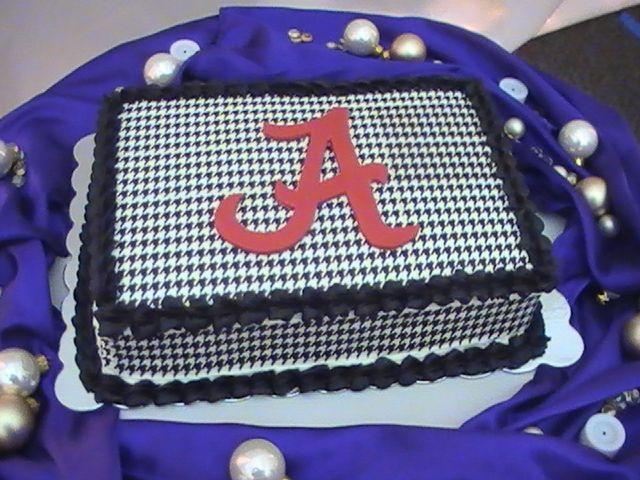 Alabama Groom Wedding Cake | University of Alabama Groom's Cake — Groom's Cakes