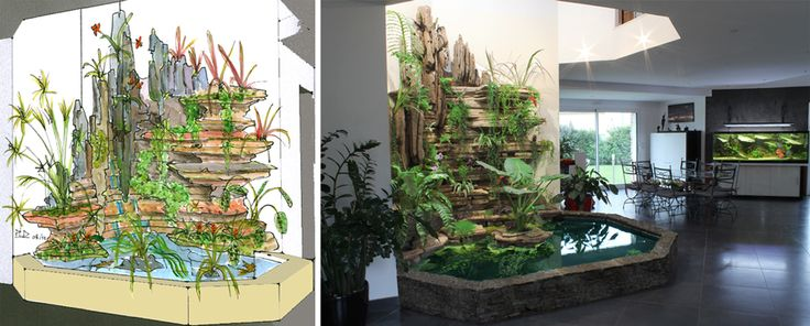 17 best images about garden ideas on pinterest gardens for Decoration murale vegetale