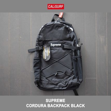 Supreme バックパック・リュック 新作!Supremeシュプリーム CORDURA BACKPACK BLACK(8)