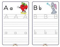 Alphabet Writing Booklet with Frog Street Press Characters