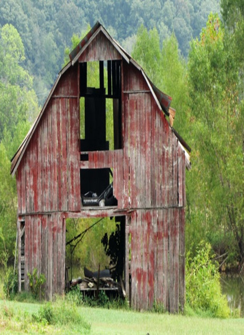 Weary With Age....Love old barns