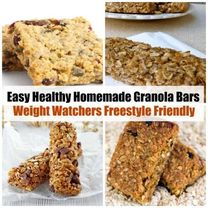 Healthy Homemade Granola Bar Recipe With Images Homemade
