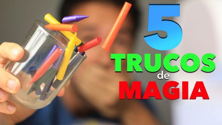 5 Trucos de Magia para Niños Muy Fácil de Hacer Magia en Casa - YouTube