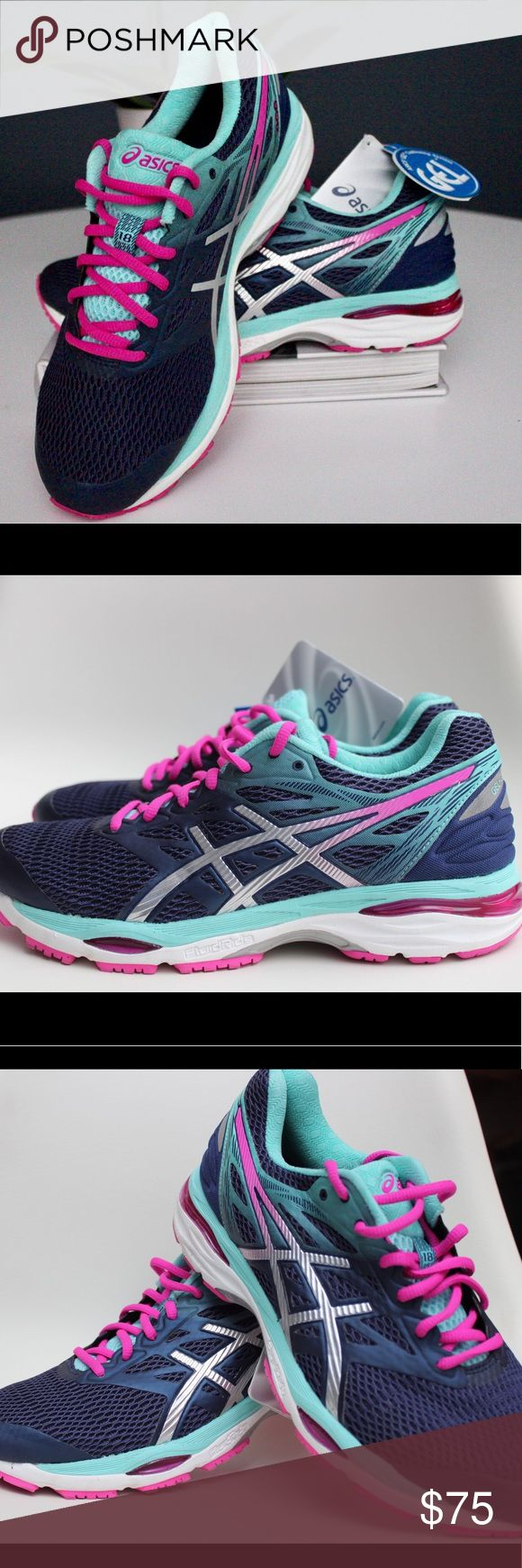 🔥NEW🔥ASICS® Women's Gel-Cumulus® 18 -T6C8N NEW! NEVER WORN! These were only display shoes! Comfort meets cushioning with the ASICS Gel Cumulus 18. Pairing rearfoot and forefoot gel cushioning with FluidRide technology, this daily trainer provides a plush ride for the miles ahead. An Impact Guidance System and guidance line create a smooth and balanced heel-to-toe transition while an open mesh upper offers optimal breathability. NWOB Asics Shoes Sneakers