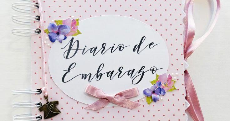 Hoolaaa!!!! Hoy quiero compartir contigo un diario de embarazo que hice especialmente para una amiga. Tiene un diseño colorido y elegant...
