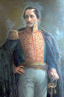 Francisco de Paula Santander by Acevedo Bernal. 2do. Presidente de Colombia.