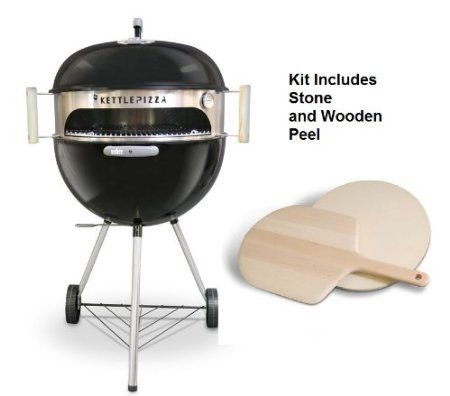 Amazon.com : KettlePizza Deluxe Kit for 18.5-Inch and 22.5-Inch Kettle Grills : Patio, Lawn & Garden @Karen Chan