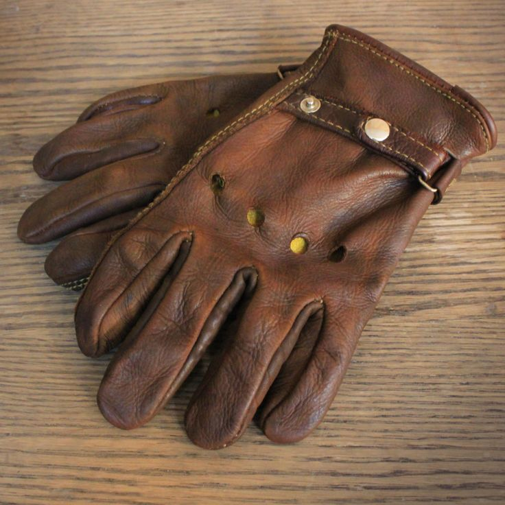 Moto Gloves - Custom Leather Riding Gloves starting at $45