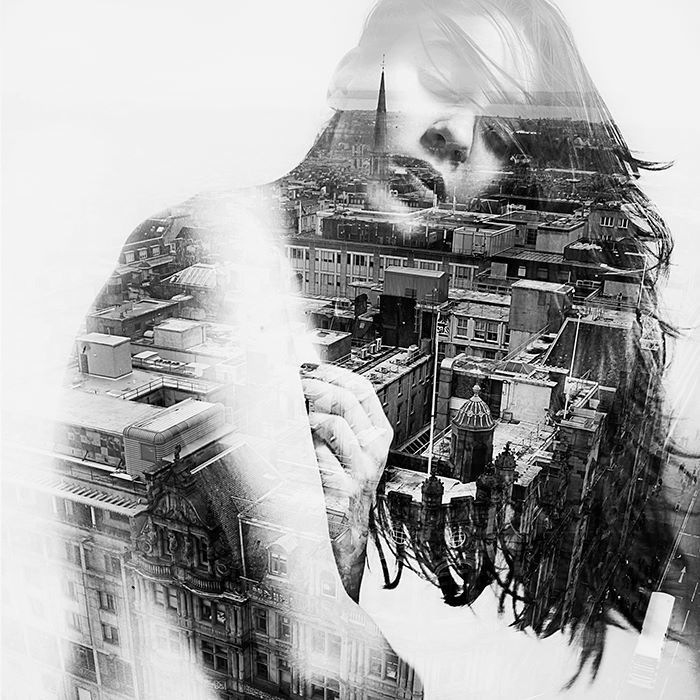 Photographer Shares How She Makes Dreamy Double Exposure Portraits - My Modern Metropolis