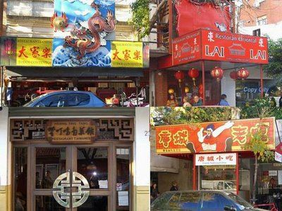 Barrio chino (China town) Buenos Aires city