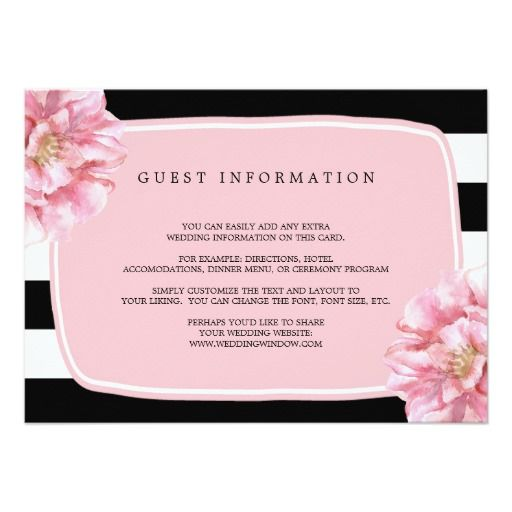 885 best Floral Wedding Invitations images on Pinterest