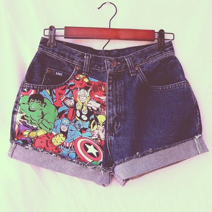 Not gonna lie, I love super heroes! -Vicky
