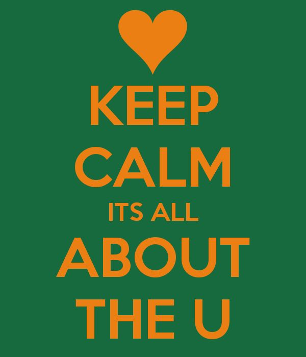 U Know It / University of Miami / It's All About The U