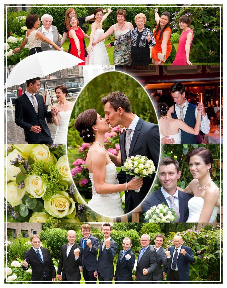 Huwelijk  Fotolayout - variant