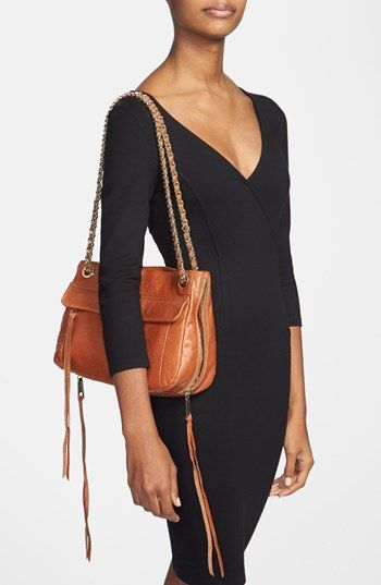 Rebecca Minkoff Swing Shoulder Bag In Cognac Almond It S The Favorite Handbags Pinterest Bags And