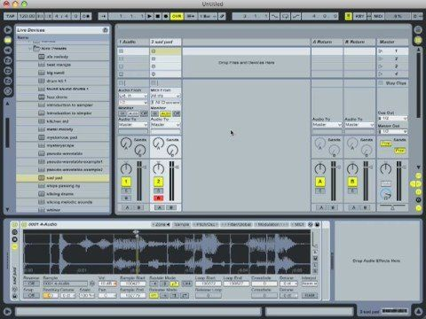 Ableton Live Tutorial Series - Sound Design With Sampler