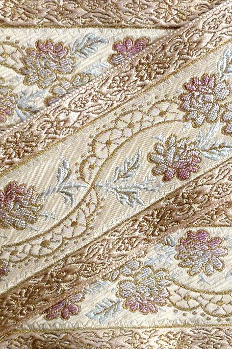 Antique Brocade Ribbon.