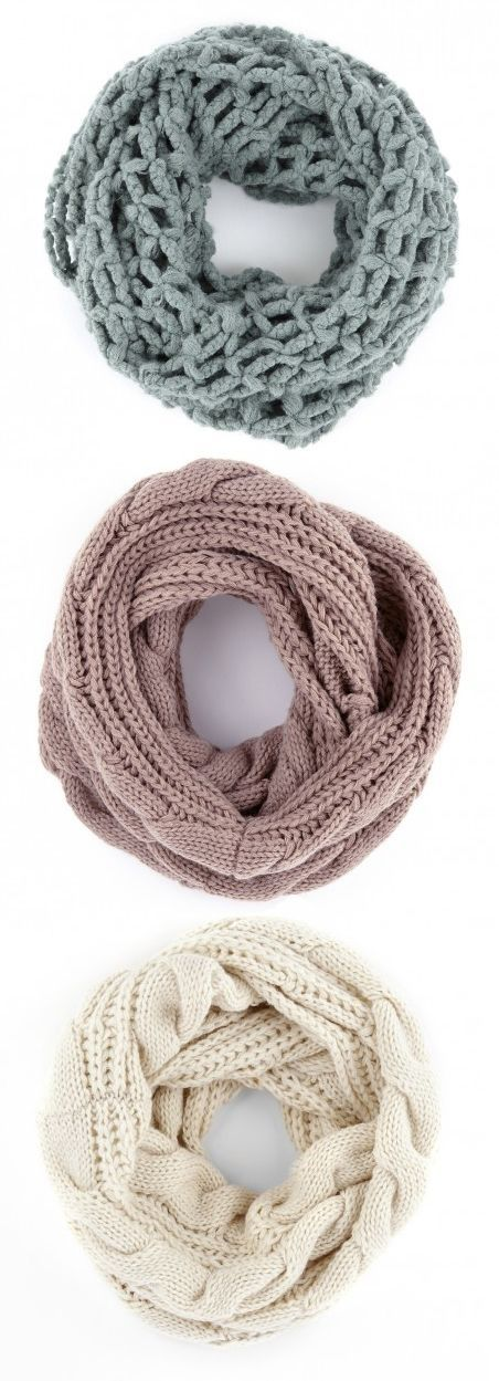 Neutral Scarves that should travel to my closet! Any knit scarves would be great!!! Burgundy, navy blue, cream, Grey, and more ****