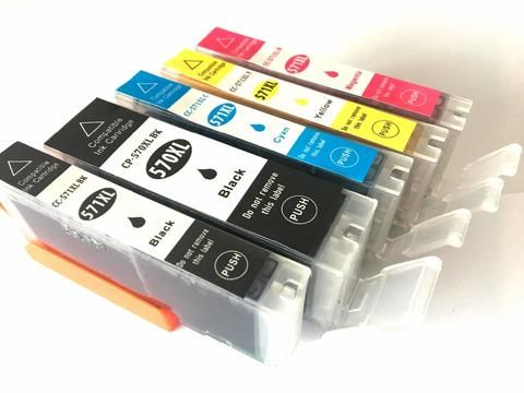 [EBay] 5Pcs Pgi-570 Cli-571 Compatible Ink Cartridge For Canon Mg6850 Mg6851 Mg6852 Mg6853 Mg5750 Mg5751 Mg5752 Mg5753 Printer