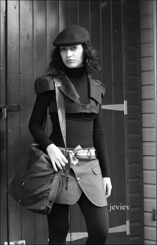 Handmade Woman Skirt - upcycled fashion. £50.00, via Etsy.