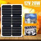 Elfeland 12V 20W/30W/50W/80W Solar Panel Battery Charger Z-Mounting Bracket Kit