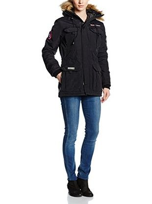 Geographical Norway Parka Parka Lady Black (Negro)