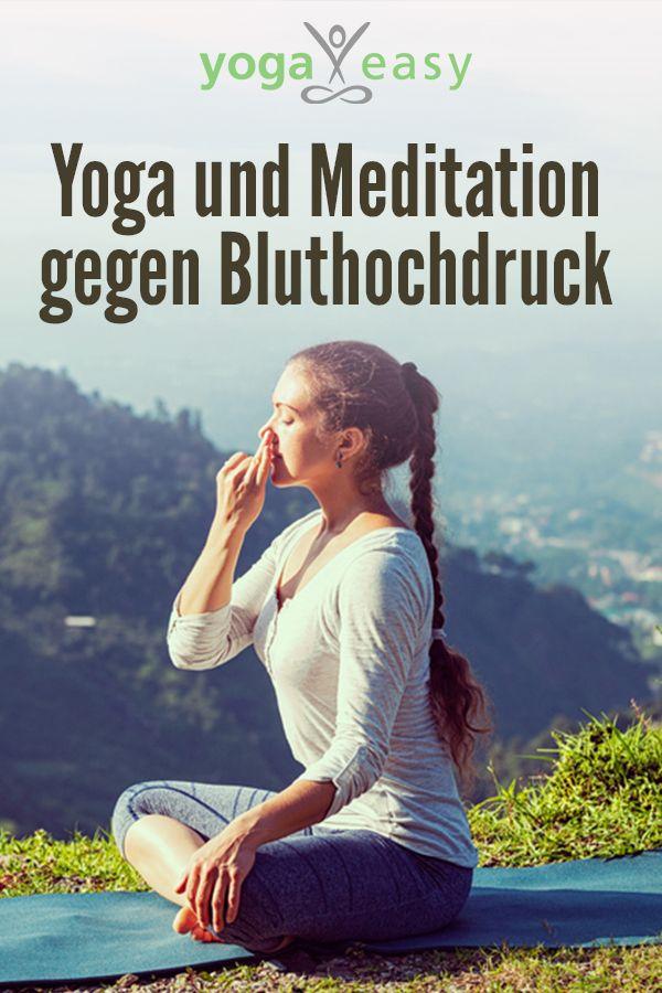 Yoga und Meditation gegen Bluthochdruck