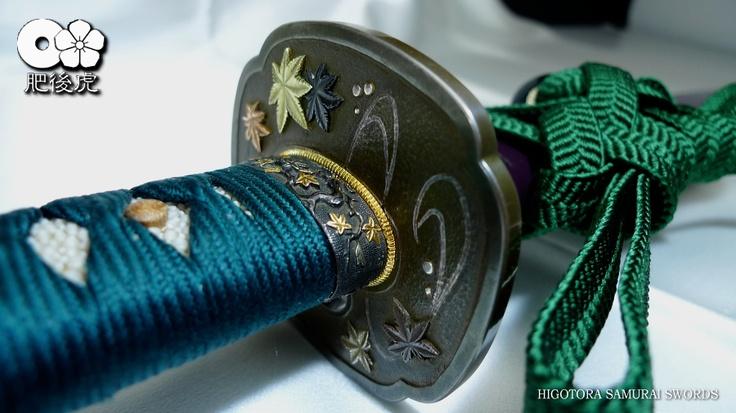 【HIGOTORA SAMURAI SWORDS】 肥後虎 日本刀(真剣) 居合刀(模擬刀) 製作販売