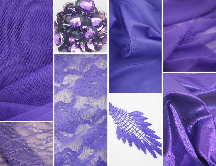 Colour Of The Week... LAVANDA. Inspired by our unique Italian Lavanda Shade we have had stretch laces, motifs, chiffon and net dyed to match our beautiful 4 way stretch shade