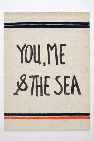 you, me  the sea