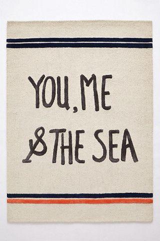 you, me  the sea