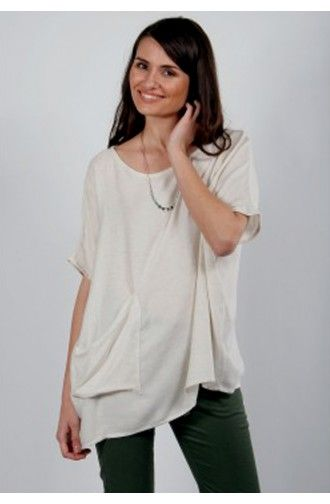 """Μπλούζα Γυναικεία T-Shirt """"Uno-Home"""" One Size"""