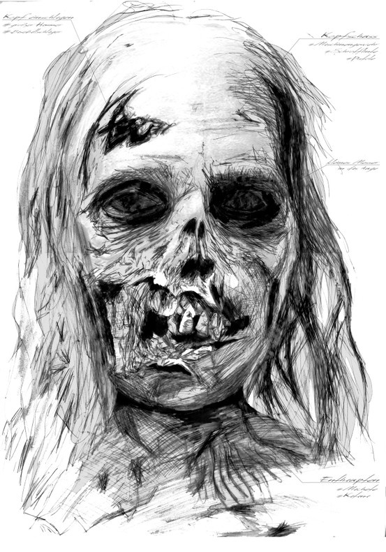 Cool Drawings Of Zombies