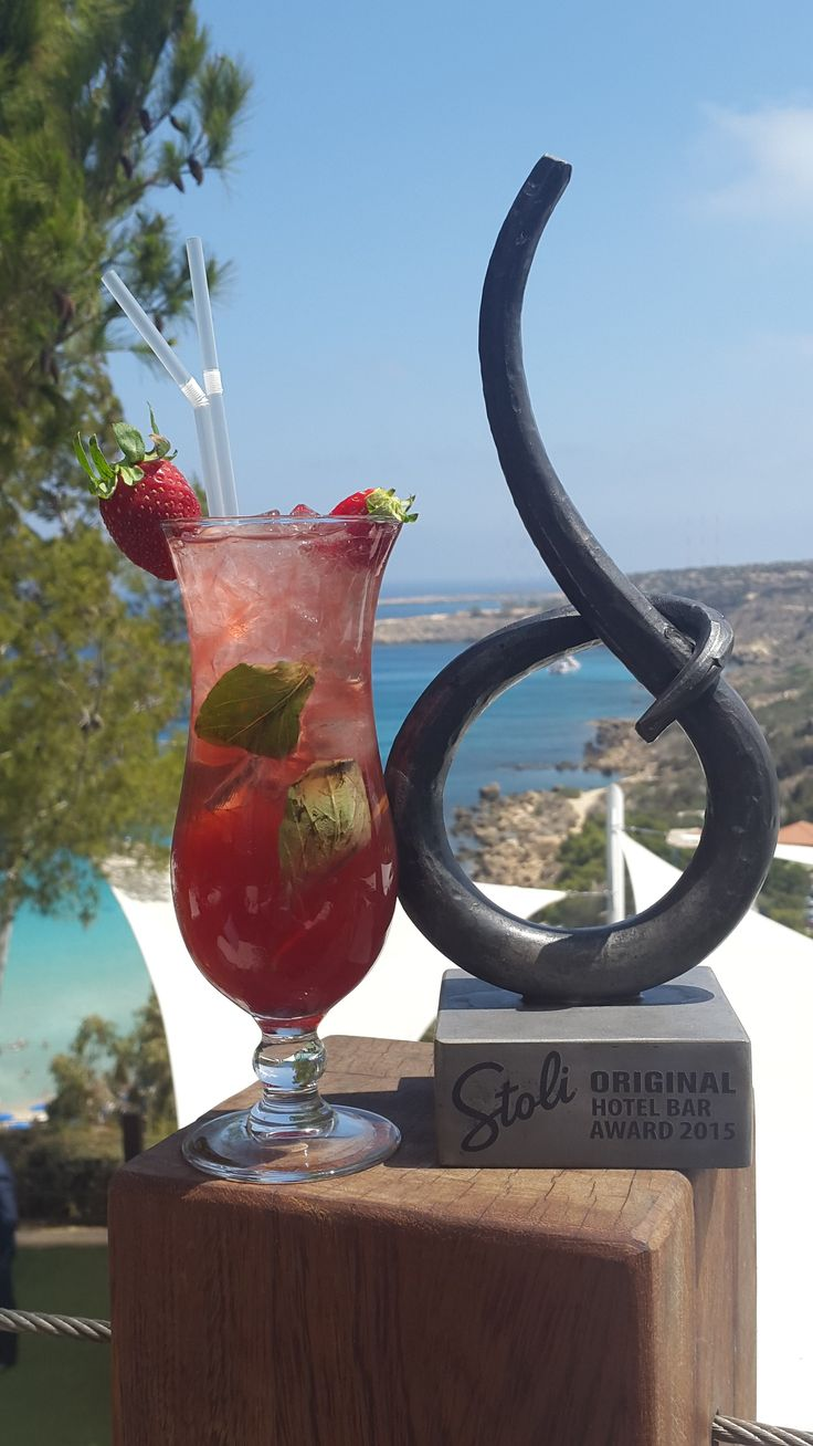 "Our very own Cliff Bar at Grecian Park Hotel won the ""Stoli Original Hotel Bar Award""! Thank you to everyone who voted for us... you're the best! #stoliawards2015 #grecianpark #hotel #cyprus #protaras #bar #seaview #mediterranean #views #award #signature #cocktail #cocktails http://www.grecianpark.com/restaurant-in-protaras.html"