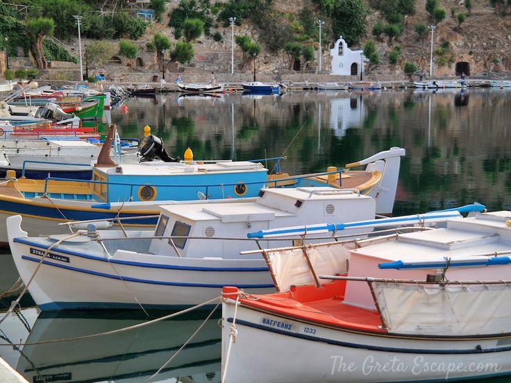 Pier of Agios Nicholaos, Crete
